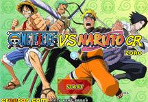 One Piece vs Naruto CR Zoro Title Screen