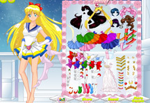 Sailor Moon Dress Up Gameplay