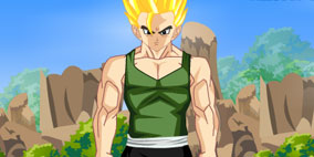 Gohan Training Dress Up 2