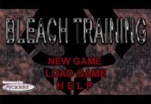 Bleach Training Title Screen