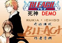 Bleach Fighting Title Screen