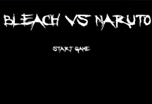 Bleach vs Naruto Title Screen