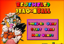 Bejeweled Dragon Ball Title Screen