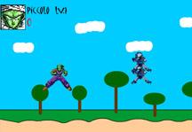 Piccolo vs Saibamen Gameplay