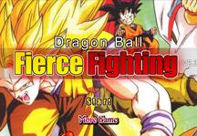 Dragon Ball Fierce Fighting 2.3 Title Screen
