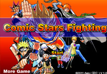 Comic Stars Fighting 1.0 Title Screen
