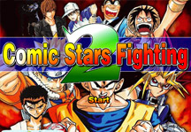 Comic Stars Fighting 2.0 Title Screen