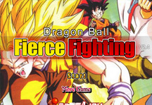 Dragon Ball Fierce Fighting 2.4 Title Screen