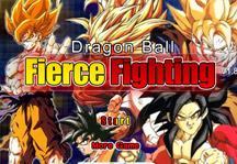 Dragon Ball Fierce Fighting 1.8 Title Screen