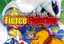 Dragon Ball Fierce Fighting 2.2 Title Screen