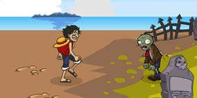 One Piece vs Zombies