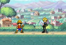 One Piece Fighting CR Sanji Gameplay