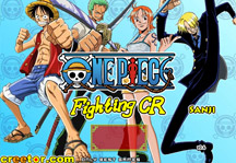 One Piece Fighting CR Sanji Title Screen