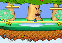 Super Smash Flash Gameplay