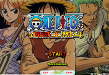 One Piece Hot Fight 0.3 Title Screen