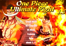 One Piece Ultimate Fight 1.5 Title Screen