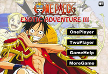 One Piece Exotic Adventure 3 Title Screen