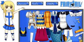 Fairy Tail Dress Up