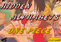 One Piece Hidden Alphabets Title Screen