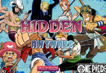 One Piece Hidden Animals Title Screen