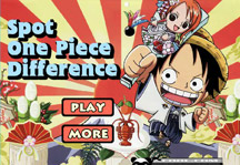 Spot One Piece Difference Title Screen