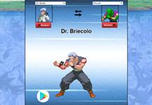 Dragon Ball Fusion Generator Title Screen