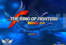 King of Fighters Wing 1.9 Title Screen