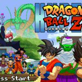 Hyper Dragon Ball Z - Title screen