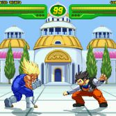 Hyper Dragon Ball Z - Majin Vegeta vs Gohan