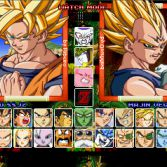 Dragon Ball Z MUGEN Edition 2 - Character select