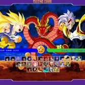 Dragon Ball GT MUGEN - Character select