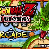 Dragon Ball Z Mini Warriors - Title screen