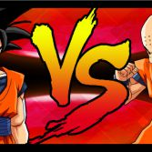 Dragon Ball Z Mini Warriors - VS screen