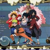 One Piece x Naruto Mugen - Screenshot