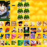 Dragon Ball Z Sagas MUGEN - Character select