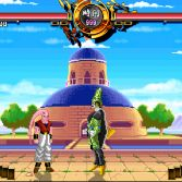 Dragon Ball Z Sagas MUGEN - Super Buu vs Cell