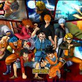 Jump Ultimate Stars MUGEN - Title screen