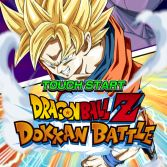 Dragon Ball Z Dokkan Battle - Title screen