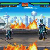 Dragon Ball AF MUGEN - Vegeta SSJ5 vs Cell Jr