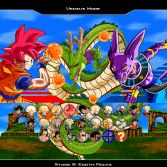 Dragon Ball Z Battle of Gods - Character select