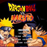 Dragon Ball Z vs Naruto MUGEN - Title screen