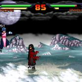 Dragon Ball Z vs Naruto MUGEN - Tao Pai Pai vs Itachi