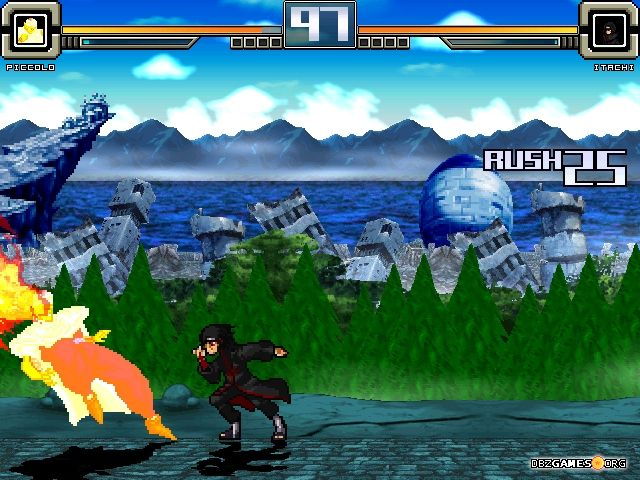 Dragon Ball Z vs Naruto Shippuden MUGEN - Download