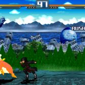 Dragon Ball Z vs Naruto Shippuden MUGEN - Piccolo vs Itachi