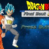 Dragon Ball Z New Final Bout 2 - Title screen