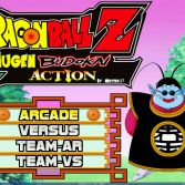 Dragon Ball Z MUGEN Budokai Action - Title screen