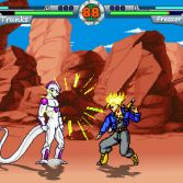 Dragon Ball Z MUGEN Budokai Action - Trunks vs Freeza