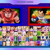 Dragon Ball Z Road to Victory - Character select