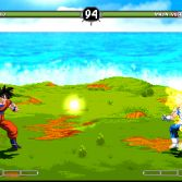 Dragon Ball Z World in Chaos - Goku vs Majin Vegeta