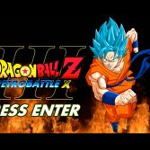 Dragon Ball Z Retro Battle X3  - Title screen